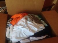 Full box of boy clothes!!! Great deal!!