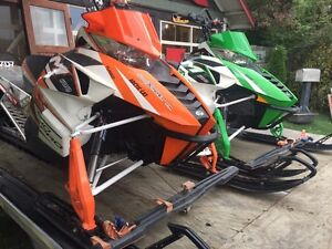 Pair of Sleds & trailer!