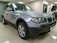 BMW X3 2.0d SE Black Suv 4X4 147BHP 47MPG DIESEL WARRANTY 12 MONTHS MOT