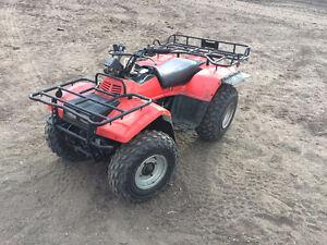 Suzuki Quad Runner 250 4x4 Regina Regina Area image 1