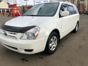 2009 KIA SEDONA LX 207248 KM 7 PASSANGER  LOADED VAN INSEPECTED