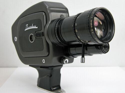 Beaulieu 2008 SUPER-8 MOVIE CAMERA W/Angenieux 8-64mm Zoom Lens