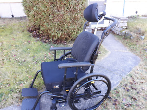 Luxury Wheelchair - Less than 6 months old
