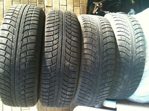 Gislaved Nordfrost 215 70 r 16 winter tires x 4 on Steel Rims