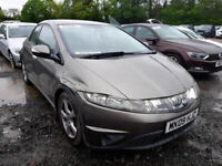 HONDA CIVIC 2.2 CDTI 2008 BREAKING FOR SPARES PLEASE CALL BEFORE YOU COME