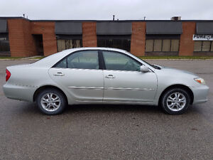 2003 Toyota Camry NO ACCIDENTS / SAFETY / E-TEST / WARRANTY London Ontario image 2