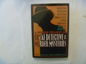 A Modern Treasury Of GREAT DETECTIVE And MURDER Mysteries HC