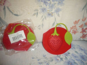 Strawberry Design Silicone Tea Infuser Strainer