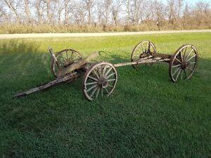Antique Weber Farm Wagon