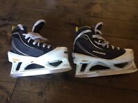 Bauer supreme one60 junior goalie skate size 2.