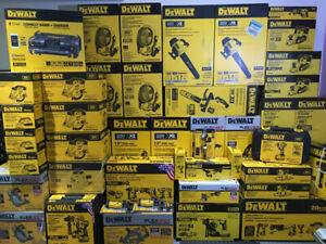 Dewalt XR Brushless Brand new tools and batteries