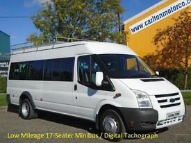 2011/ 11 Ford Transit 115 T430 17 Seat Minibus [ M2 ] Low mileage DRW