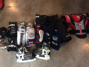 Full set of Mens Hockey gear and bag