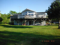 Water Front Property, on 46 acres with 870 ft. shoreline.