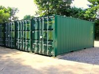 Solihull Secure Container Storage CCTV Monitored Hanlin Storage Available Now Birmingham