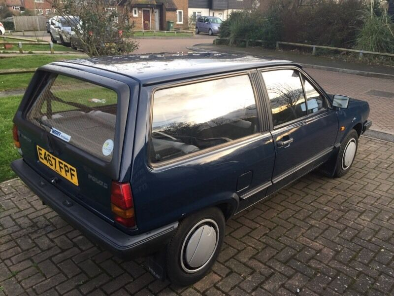 Volkswagon Polo Mk2 Breadvan 1987 Vw C 10 Classic Car