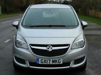 Vauxhall Meriva 1.4T 16V Club 5 Door Automatic MPV Petrol Automatic