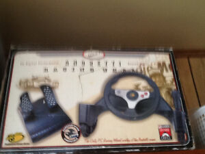 PC Digital Performance Andretti Racing Wheel and Pedals.
