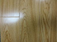 2 colors 12.3mm thick laminate floor with 3mm padding