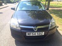 Vauxhall Astra 1.6 MK5 Club 5 doors black in good condition 1 year MOT