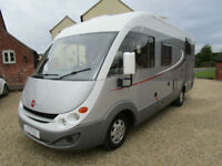 Burstner Aviano I 640G A Class Luxury 4 Berth Twin Single Bed motorhome for sale