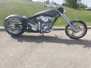GORGEOUS!!! Custom Big Bear Chopper - Devil's Advocate ProStreet