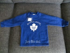 18-month (18M) boys leafs sweater, $2