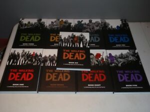 The Walking Dead Hardcover Books, Vol 1-14, Excellent Condition