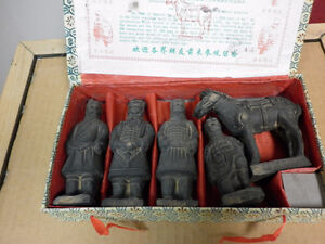 The Tomb of Emperor Shi Qin Dynasty Clay Figures