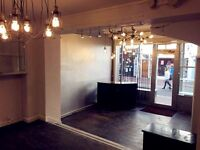 LET AGREED! Shop Space in Central Brighton for POP UP/SHORT TERM/LONG TERM LETTING