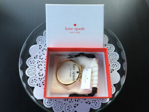 Kate Spade Bangle (New york Take a Bow in gold) $45.00