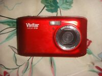 Red Point And Shoot Camera