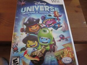 Disney universe with manual for WII