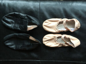 Bloch Ballet and Jazz shoes