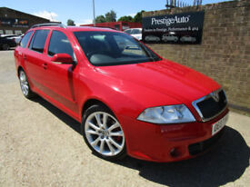 2007 07 Skoda Octavia 2.0TDI PD VRS 170 BHP 6 SPEED DIESEL ESTATE FSH 61 MPG ECO