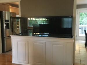 130 Gallon Aquarium (Stand not included)