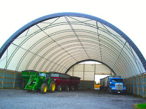 GREAT 60' X 100' ENGINEERED TENSION FABRIC BUILDING FOR SALE!!!
