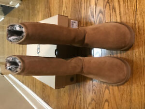Brand New Authentic Classic Tall Chestnut UGG Boots