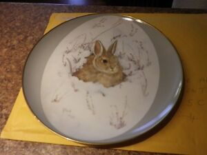 "*Winter Peace Limited Edition Plate** 10"" diameter..."