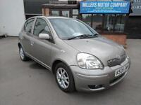 TOYOTA YARIS 1.3 VVT-i / PETROL / MANUAL / 4 DOOR / SILVER