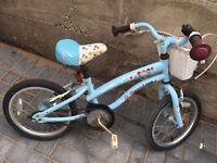 """Apollo cherry lane girls bike with 16"""" wheels £18"""