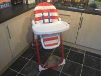 Cossato high chair
