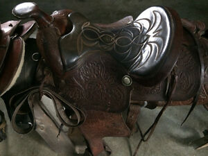 Saddles for sale or trade Prince George British Columbia image 2