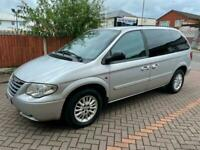 LEFT HAND DRIVE 2008 CHRYSLER VOYAGER 2.8 LX CRD 7 SEATS AUTOMATIC FREE DELIVERY