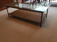 Marks and spencer rattan coffee table