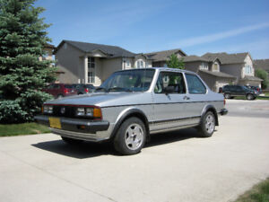 Minty 1984 Jetta Coupe