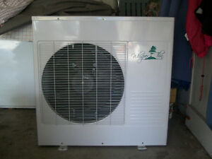 """NEW """"WHISPER THIN"""" CENTRAL AIR CONDITIONER"""
