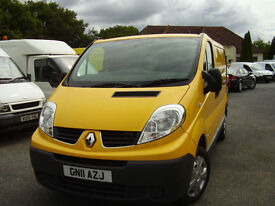 08 RENAULT TRAFIC SL29 DCI 115 AA DIRECT, 56,000 miles,