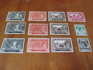 MALAY STATES B, TIMBRES NON OBLITÉRÉS. MINT STAMPS