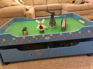 Thomas the train set and table